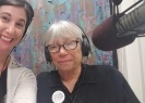 Authors Monica Miller and Bonnie McCune at Between the Pages radio interview.